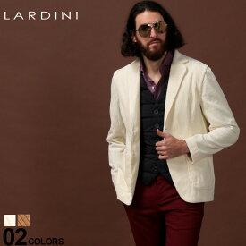 ラルディーニ LARDINI ジャケット コーデュロイ シングル 2ツ釦 2B ブランド メンズ アウター テーラード コットン LDAMAC1094