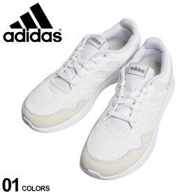 大きいサイズ メンズ adidas (アディダス) スリーライン メッシュ スニーカー ARCHIVO WHITE ファッション カジュアル シューズ スポーツ ランニング ジョギング BTEF0523