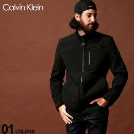 カルバン クライン Calvin Klein CK ソフトシェルジャケット ブルゾン ブランド メンズ アウター ジャケット ロゴ CKCM903910