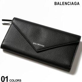 バレンシアガ BALENCIAGA レザー ロゴワンポイント 長財布 PAPIER ZA THIN MONEY ブランド レディース ウォレット レザー財布 BCL499207DLQ0N SALE_5_b