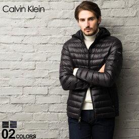 カルバンクライン CK Calvin Klein ライトダウンジャケット パッカブル フード パーカー ブルゾン ブランド メンズ アウター ダウン CKCM918765