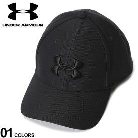 大きいサイズ メンズ UNDER ARMOUR (アンダーアーマー) heatgear 3Dロゴ 6パネル キャップ カジュアル ファッション 小物 帽子 ゴルフ スポーツ 1305036