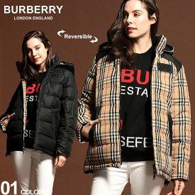 バーバリー レディース ダウン BURBERRY リバーシブル ヴィンテージチェック パーカー フード ブランド アウター チェック BBL8018766