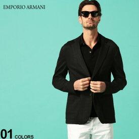 エンポリオ アルマーニ メンズ ジャケット EMPORIO ARMANI ジャガード シングル 2ツ釦 2B テーラードジャケット ブランド ストレッチ EA51G87S51S01 SALE_2_c