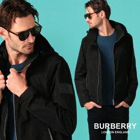 バーバリー メンズ ナイロンジャケット BURBERRY フード ダブルジップ ブルゾン ブランド ライトアウター ナイロンパーカー BB8014363 SALE_2_a