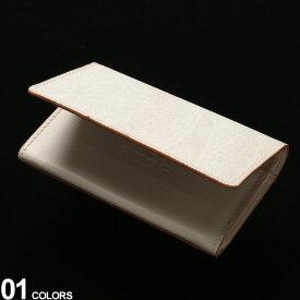 エトロ メンズ パスケース ETRO 名刺入れ レザー コーティングキャンバス ペイズリー 二つ折り カードケース ブランド レザーケース 白 ET0H2998507