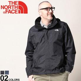 大きいサイズ メンズ THE NORTH FACE (ザノースフェイス) 裏メッシュ フード フルジップ 長袖 ジャケット Resolve 2 Jacket DRYVENT ジャケット ブルゾン ナイロン ナイロンジャケット パーカー アウトドア 春 NF0A2VD5