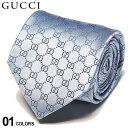 グッチ ネクタイ GUCCI シルク100% GGロゴ BLUE ブランド メンズ 紳士 タイ シルク ビジネス ギフト GC4565204968 SA…