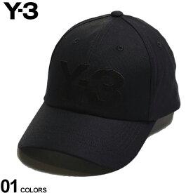 Y-3 キャップ ワイスリー コットン ロゴ 刺繍 CLASSIC LOGO CAP ブランド メンズ 帽子 YOHJI YAMAMOTO ヨウジヤマモト Y3GK0626