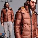 ヒューゴボス メンズ ダウンジャケット HUGO BOSS ナイロン フード ダウン ブルゾン パーカー ブランド アウター 2WAY HBDOLER10228841