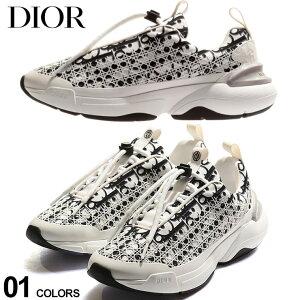 DIOR メンズ スニーカー ディオール ロゴ B24 ブランド シューズ 靴 トロッター ローカット CD3SN248YJT