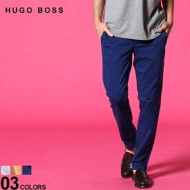 ヒューゴボス メンズ コットンパンツ HUGO BOSS ストレッチ ジップフライ カラー 5ポケットパンツ SLIMFIT ブランド メンズ ボトムス スリム HBSCHIN10195867