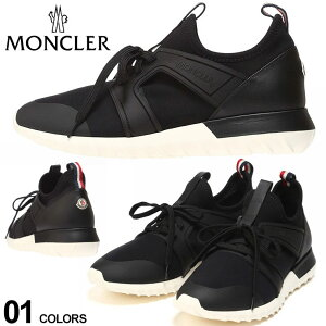 モンクレール メンズ スニーカー MONCLER レースアップ スリッポンタイプ スニーカー EMILIEN ブランド シューズ 靴 MC4M70000019MH