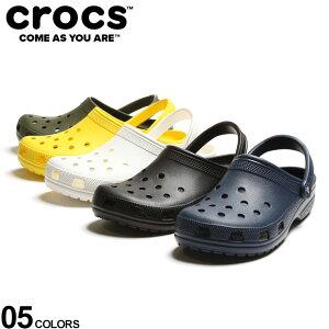 大きいサイズ メンズ crocs (クロックス) 無地 クロックス クラシック CLASSIC サンダル クロックス スリッポン アウトドア レジャー 定番 夏 10001D22