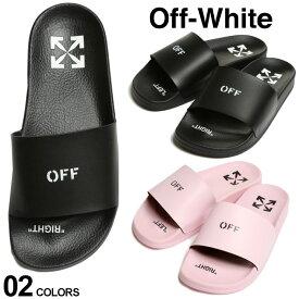 オフホワイト レディース OFF-WHITE ロゴ プリント スライドサンダル POOL SLIDER ブランド サンダル シャワーサンダル OWLIC002S21PLA1 SALE_8_a