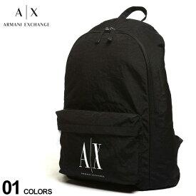 アルマーニエクスチェンジ メンズ バッグ ARMANI EXCHANGE ロゴ バックパック ブランド メンズ レディース リュック 鞄 AE952103