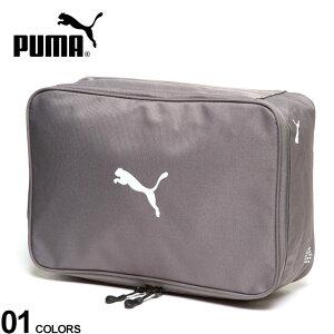 大きいサイズ メンズ PUMA (プーマ) ロゴ ゴルフ シューズボックス バッグ シューズケース ゴルフ スポーツ トレーニング ジム 867925