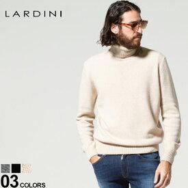 ラルディーニ メンズ LARDINI カシミヤ ウール タートルネック ニット セーター ブランド トップス カシミア サステナブル LDMML211IP57058 2021AW