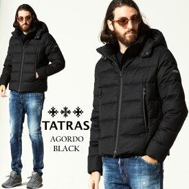 タトラス メンズ TATRAS フード ウール ダウンジャケット AGORDO BLACK ブランド アウター ブルゾン ダウン パーカー TRMTKE21A4148 2021AW SALE_2_a