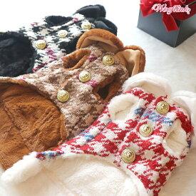 送料無料 / ドッグ ウェア コート Wooflink TIMELESS CHICウーフリンク タイムレス チック / 犬服 ドッグウェア おしゃれ かわいい / 小型犬 中型犬 対応可