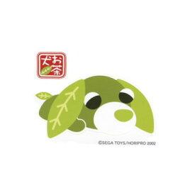 お茶犬 緑茶犬<リョク>(M・グリーン)【犬 ステッカー デカール シール 車ステッカー 車用 図柄ステッカー メール便】