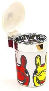 ロディファンシーアッシュ・ホワイト Rody 灰皿 灰皿車 煙 LED 蓋付き フタ付き フタ 車 車用 車用品 ドリンクホルダー 通販