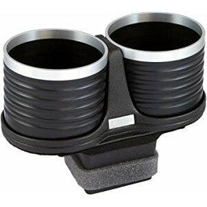 【メーカー直送品】ALCABO/アルカボ ドリンクホルダー ブラック/リング カップタイプ AL-P202BS ポルシェ 911(タイプ991) 右/左ハンドル車 灰皿ナシ車専用