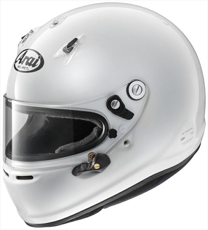 【送料無料】Arai/アライ 四輪用ヘルメット GP-6 8859 (60-61) 白 Super cLc構造 4530935426898