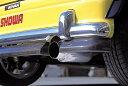 D-SPORT/Dスポーツ スポーツマフラー※ ターボ車用 ミラ ジーノ L7#0S 年式98.10〜 品番17400-B010