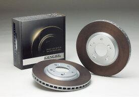 DIXCEL/ディクセル ブレーキディスクローター HD フロント用 ミツビシ PAJERO IO パジェロ イオ 年式98/6〜 型式H76W HD341 1092S TURBO