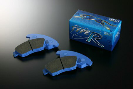 ENDLESS ブレーキパッド タイプRフロント・リアSET ミツビシ ランサーエボリューション CT9A (エボリューション8・GSR・RS・純正ブレンボキャリパー装着車) TR357291