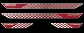 【メーカー直送品】無限 スカッフプレート レッド フィット・フィットハイブリッド GK・GP5 13/09- 84200-XMK-K0S0-RD