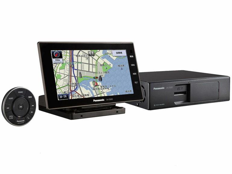Panasonic パナソニック ストラーダ 4×4地デジチューナー内蔵 7.0インチワイドVGA オンダッシュ 16GB SDメモリーカーナビゲーション CN-Z500D