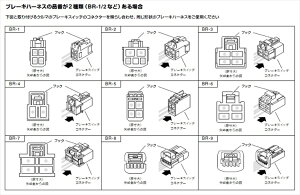 pivot3-drive・αハーネスセット(3DA-T+TH-1A+BR-2)トヨタ純正クルーズスイッチ対応品