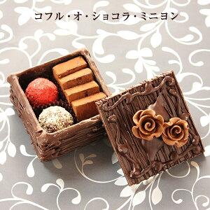 ホワイトデー お返し チョコ おしゃれ 池ノ上ピエール コフル・オ・ショコラ・ミニヨン 生チョコ お菓子 人気 高級 プレゼント ギフト チョコレート 詰め合わせ かわいい