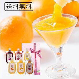 【送料無料】フルーツルーツ フルーツジュレ 6個 ギフト 父の日 お中元 プレゼント ジュース フルーツゼリー ヘルシー