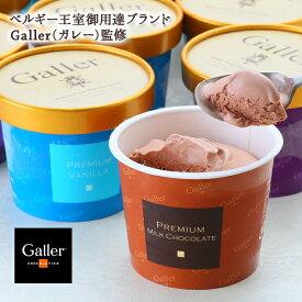 送料無料 ベルギー王室御用達 Galler(ガレー)監修 プレミアムアイス(12個) アイスクリーム ギフト スイーツ ブランド 内祝 お祝 誕生日 チョコ バレンタイン