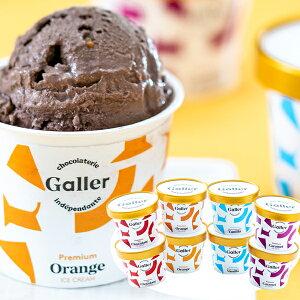 お歳暮 送料無料 ベルギー王室御用達 Galler(ガレー)監修 プレミアムアイス(8個) アイスクリーム ギフト スイーツ 高級 内祝 お祝 誕生日 チョコ 御歳暮