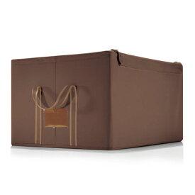 ライゼンタール ストレージボックス(reisenthel) 【正規品】 storagebox MOCHA L【収納ボックス】クローゼット 収納 ケース 収納ボックス 布製 収納ボックス 折り畳み 収納ボックス 折りたたみ フタ付き 収納ボックス 蓋付き 収納ボックス ふた付き