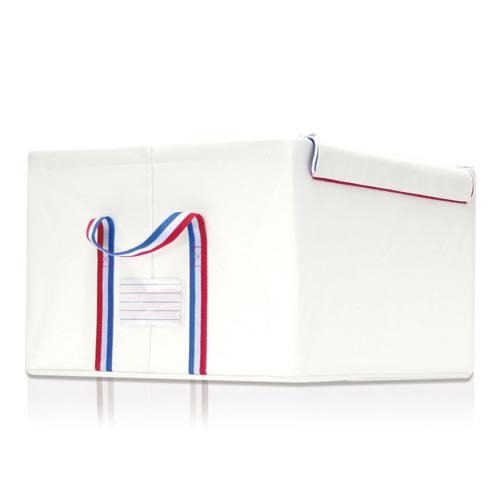 ライゼンタール ストレージボックス(reisenthel) 【正規品】 storagebox TRICOLOR L/収納ボックス クローゼット 収納ケース 収納ボックス 布製収納ボックス 折り畳み収納ボックス 折りたたみ収納ボックス フタ付き収納ボックス 蓋付き ふた付き