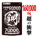HMB クレアチン サプリ 鋼 【HMB 90000mg + クレアチン 70000mg】 BCAA クラチャイダム ビタミン hmb ダイエット 国産…