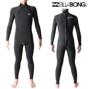 ビラボン ウェットスーツ メンズ 4mm / 3mm インナーバリア フルスーツ ウエットスーツ サーフィンウェットスーツ Billabong Wetsuits