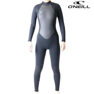 オニール ウェットスーツ レディース 3mm 2mm フルスーツ ウエットスーツ リアクター2モデル サーフィンウェットスーツ O'neill Wetsuits