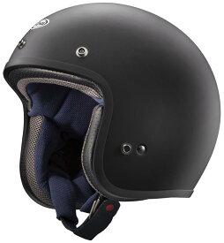 Classic MOD(クラシック・モッド) ラバーブラック(つや消し) 61〜62cm ジェットヘルメット ARAI(アライ)