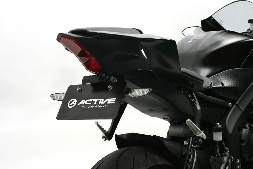 YZF-R6 フェンダーレスキット ブラック (LEDナンバー灯付き) ACTIVE(アクティブ)