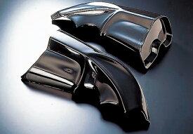 V-MAX1200(85〜08年) Fanatic ビックダクト FRP 黒ゲル ACTIVE(アクティブ)