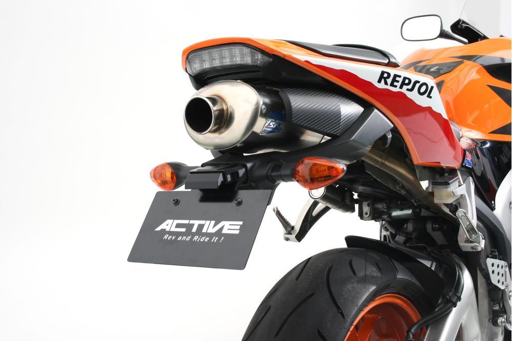 CBR600RR(13〜15年) フェンダーレスキット ブラック LEDナンバー灯付 ACTIVE(アクティブ)