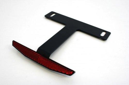 【あす楽対象】汎用リフレクターキットTYPE-3(スリム ブラック) 125cc超対応 ACTIVE(アクティブ)