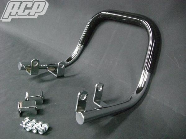 APE50/エイプ50 FXテール&ノーマル対応タンデムバー(ゴム付き) ACP(エーシーピー)