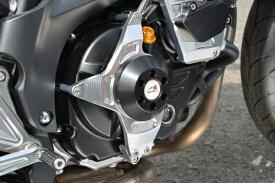 SV650(16年〜) レーシングスライダー クラッチ(アルミベース+ジュラコン) ジュラコン/ホワイト AGRAS(アグラス)